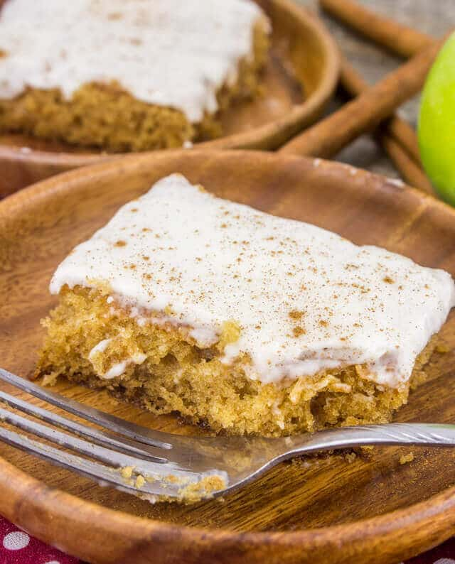 Apple Butter Sheet Cake
