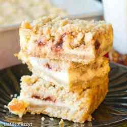 christmas cranberry cream cheese bars recipe
