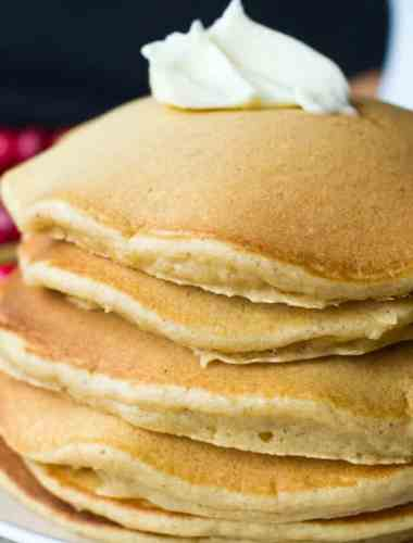 ginger spiced pancakes recipe