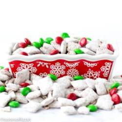 christmas puppy chow recipe
