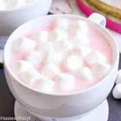 hot chocolate with white chocolate