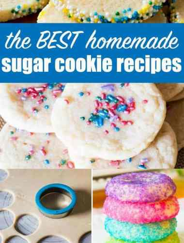 the best homemade sugar cookie recipes