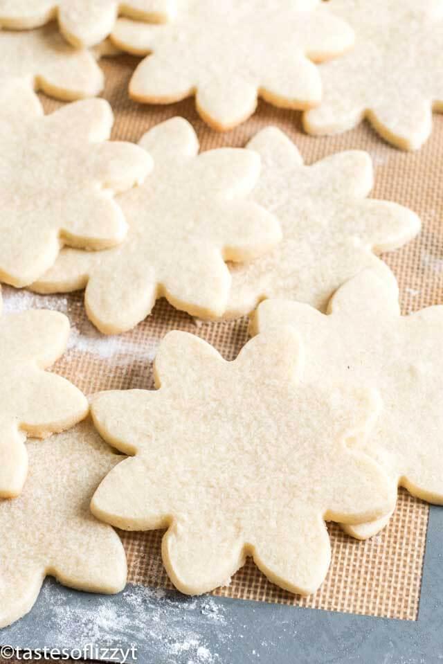 shortbread cutout cookie recipe