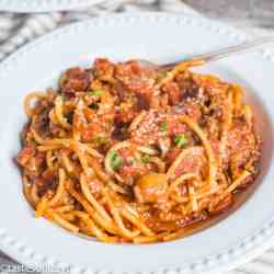 Instant Pot Spaghetti