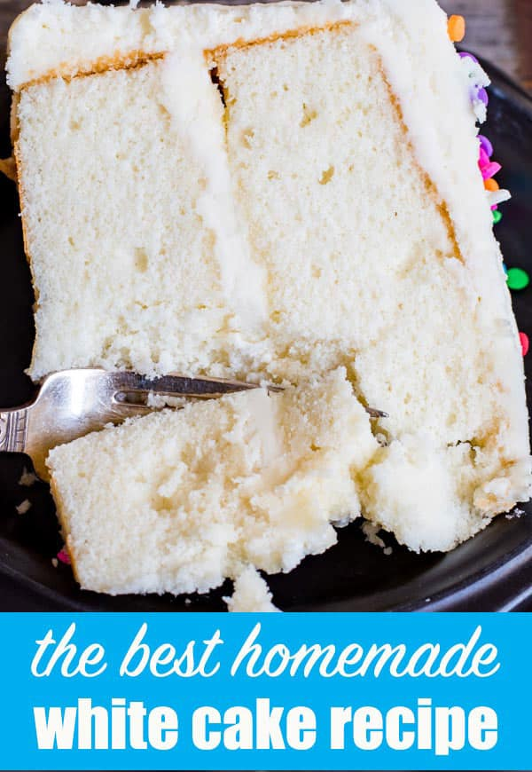 The Best Homemade Vanilla Cake Recipe Tips On How To Make A Fluffy White