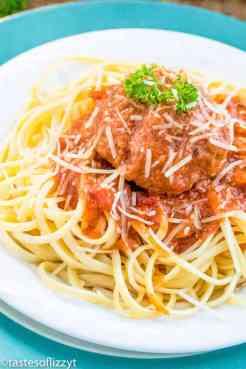 Instant Pot Spaghetti Sauce and Italian Meatballs
