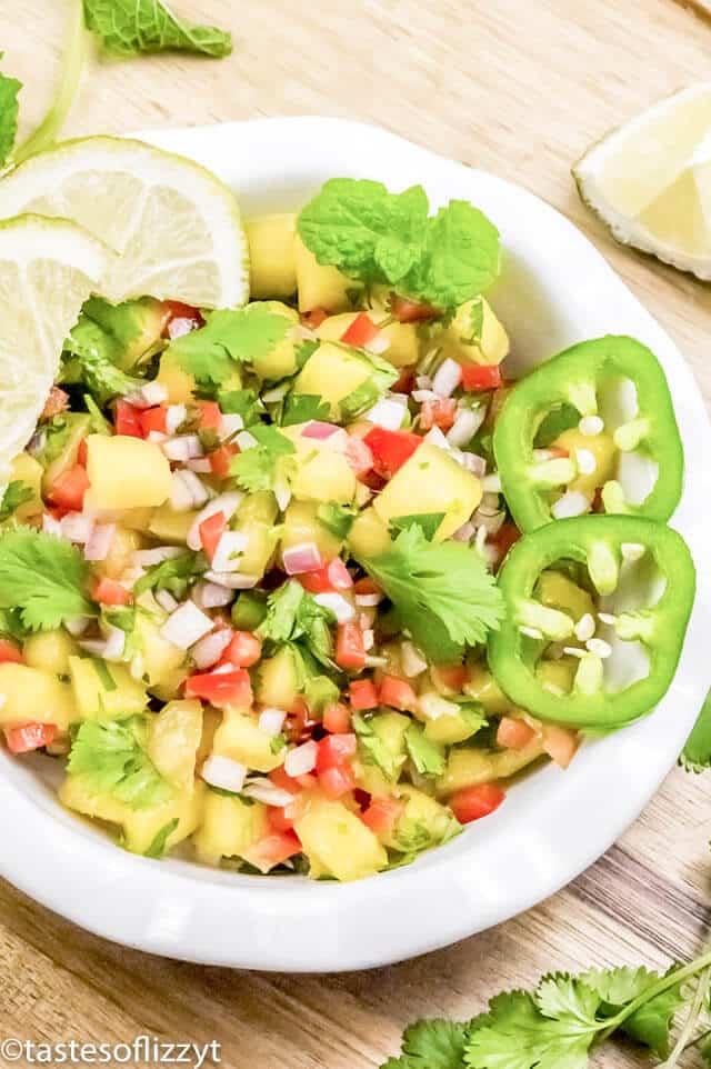easy fresh mango salsa recipe