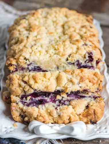 how to make blueberry bread