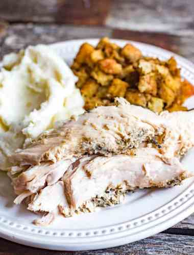 easy slow cooker turkey breast recipe