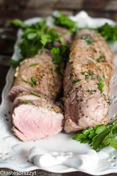 Garlic Butter Pork Tenderloin