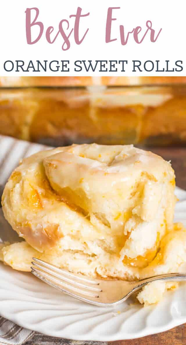 Looking for a new sweet roll to try? Try this Orange Rolls recipe that is infused with orange flavor in the dough, filling and the sweet glaze on top. These super soft rolls are THE BEST!