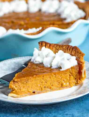 how to make eggnog pumpkin pie