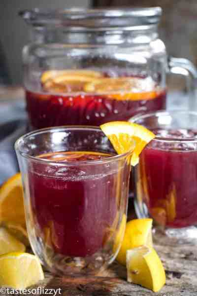 Grape Juice Lemonade