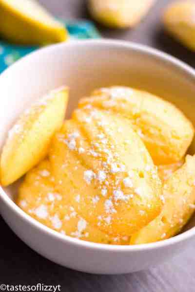 Lemon Madeleine Cookies