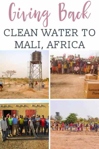 Clean Water to Mali Africa