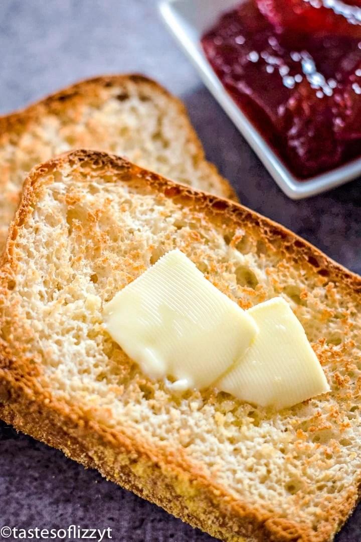 English Muffin Bread Recipe {English Toasting Bread for ...