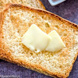 slice of English Muffin Bread with butter