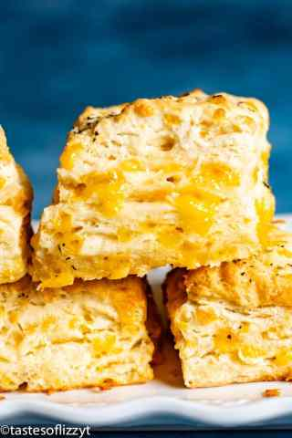 Stack of Cheddar Bay Biscuits