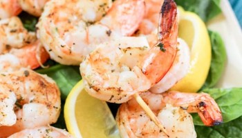 Grilled Shrimp Foil Packets Recipe {with Seasoned Potatoes