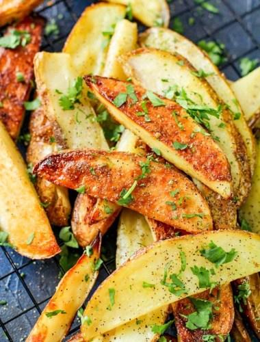 best ever Baked Potato Wedges