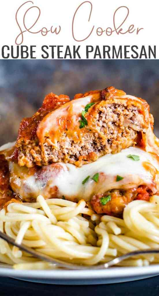 If you're looking for a quick dinner recipe, flavorful slow cooker Cube Steak Parmesan is the answer. Serve with your favorite pasta and sauce.