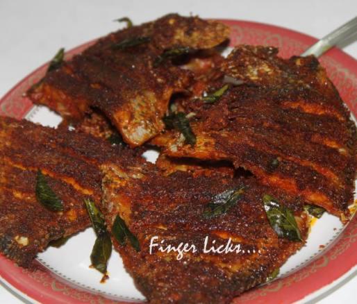 Karimeen Fry/ Kerala Style Pearl Spot Fry
