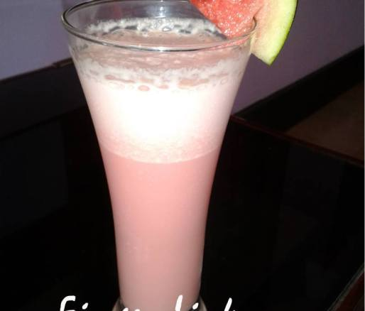 Watermelon Milk Shake