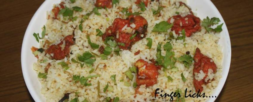 Gobi Fried Rice/ Fried Gobi Rice