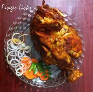 Full chicken fry/Kozhi Nirthi Porichathu/ Whole Chicken Fry