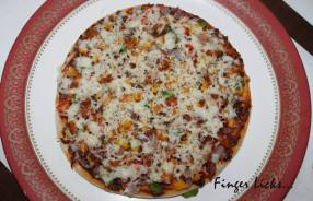 Chicken Pizza/ Homemade Chicken Pizza