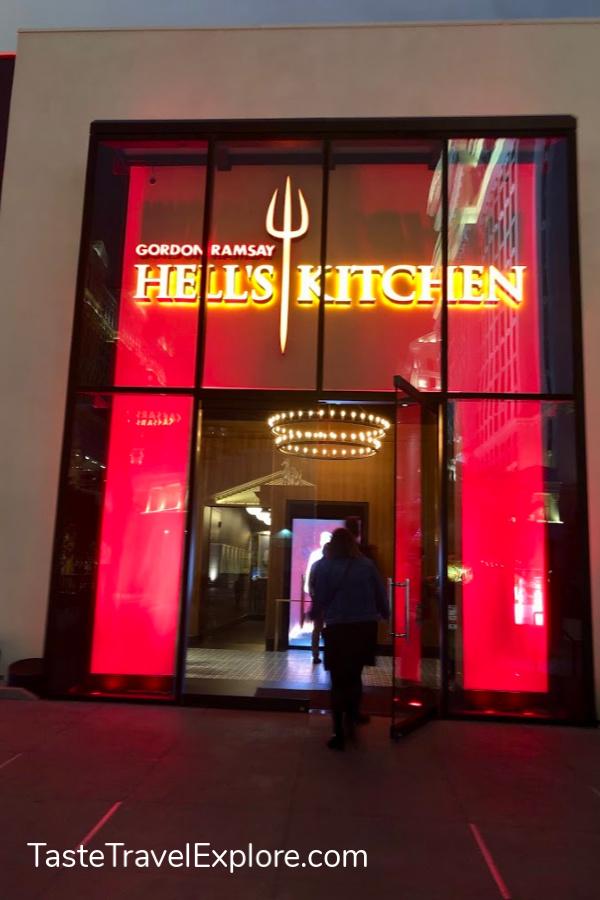 Hells Kitchen entrance