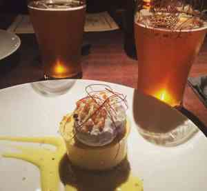 Beer-paired dinner