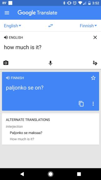 How to Travel - Google Translate