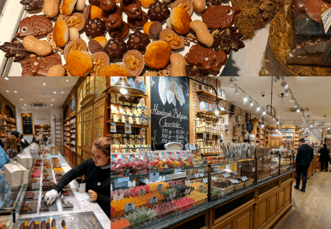 Belgium Must Trys - Belgian Chocolate