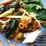 Tasting Good Naturally : Pizza de légumes et poêlée de légumes #vegan