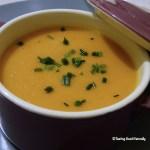 Tasting Good Naturally : Soupe au potimarron et lait de coco