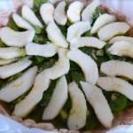 Tasting Good Naturally : Tarte aux pommes et kiwis #vegan