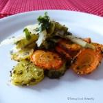 Tasting Good Naturally : Légumes verts aux carottes et pommes de terres rôties #vegan