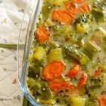 Millet aux légumes – végétalien