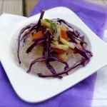 Tasting Good Naturally : Salade de crudités et nouilles de riz #vegan