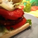 Vegan Burger aux champignons sans matière grasse