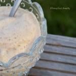 Tasting Good Naturally : Glace à la banane, noix de cajou et lait de riz #vegan