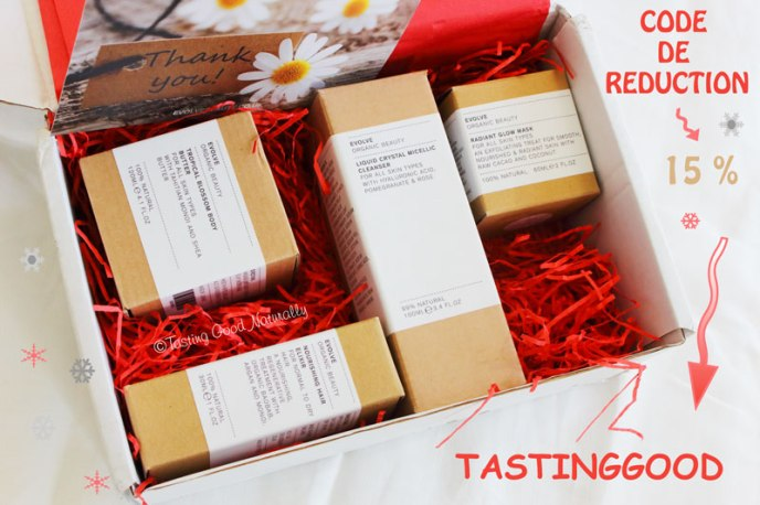 Tasting Good Naturally : Envie de découvrir des cosmétiques bio, vegan et 100% naturels ? Je vous amène à la découverte d' Evolve Beauty, mon coup de coeur de l'année !