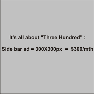 sample ad size 300x300