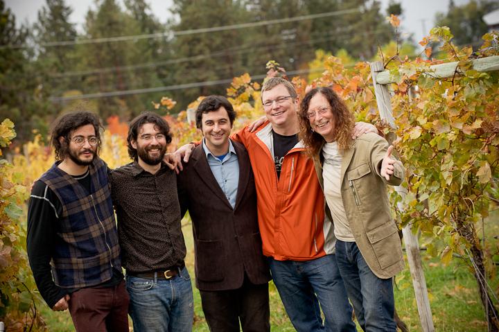 Team Cipes with Winemaker Eric von Krosigk