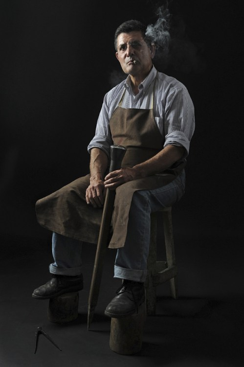 Luigi Pitzalis, one of the last coppersmith master craftsman in Italy