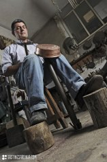 a workshop of coppersmith today is full of same ancient tools you'd find centuries ago