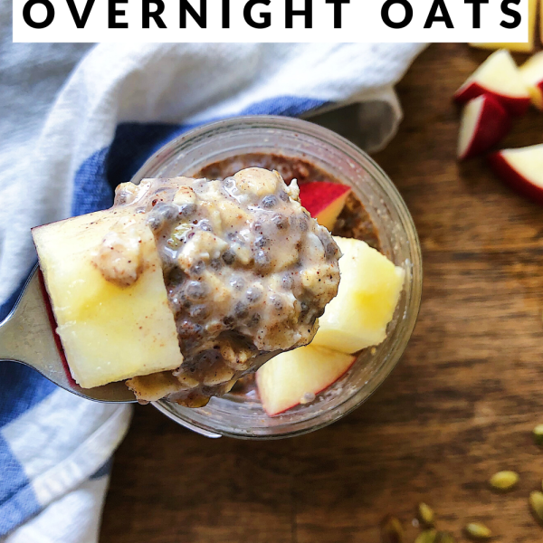 Easy vegan overnight oats