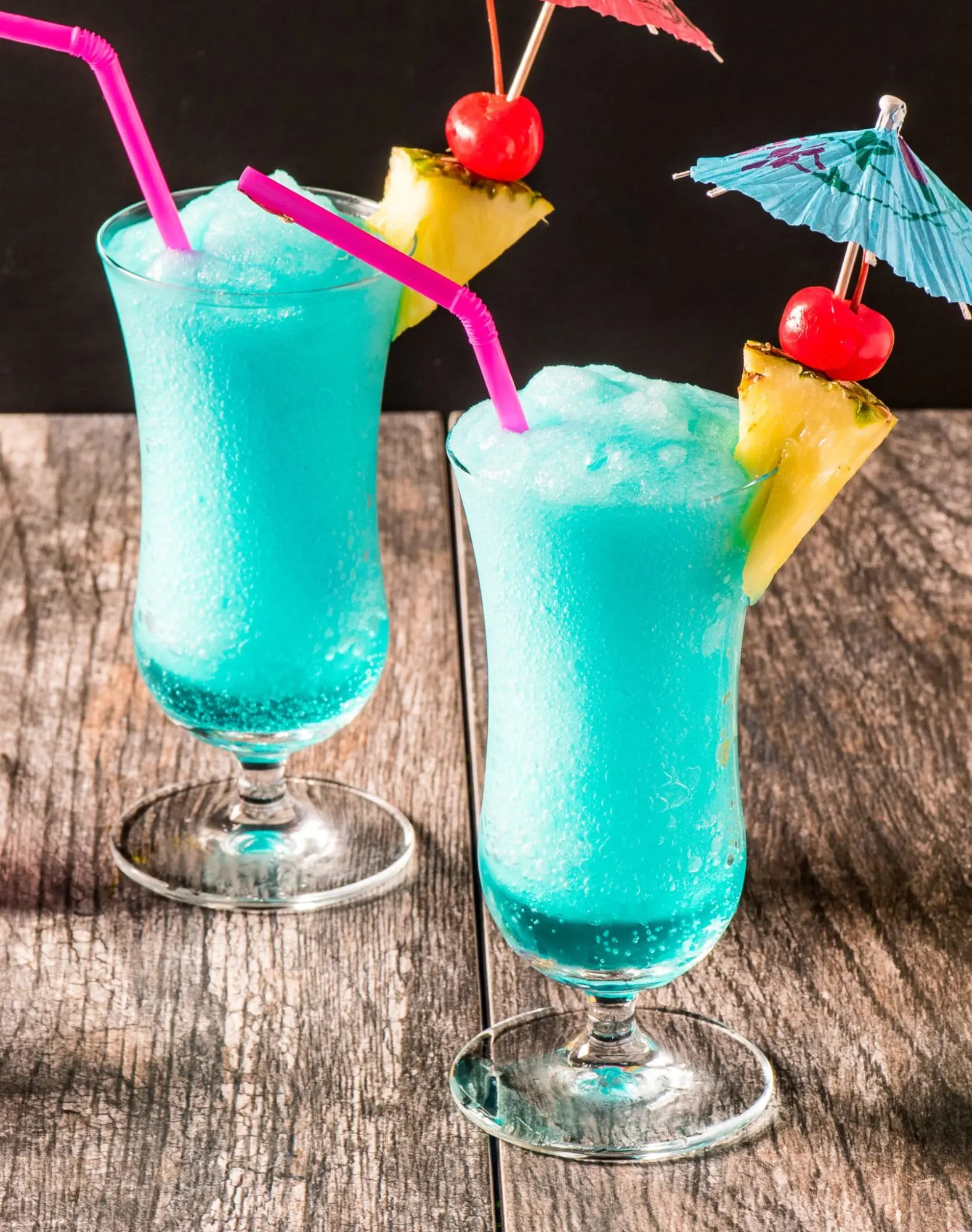 Blue Hawaiian Cocktail Tasty Low Carb