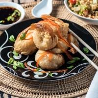Low Carb Tempura Shrimp with Dipping Sauce